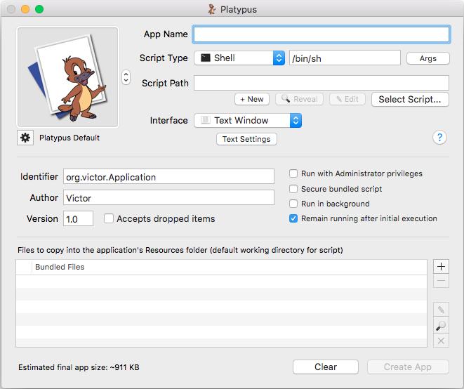 Platypus и Packages. Создаём и устанавливаем программы на macOS - 2