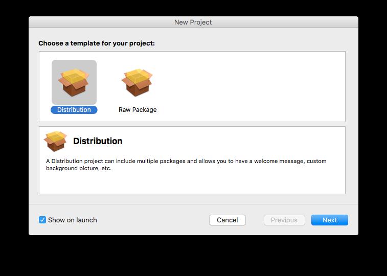 Platypus и Packages. Создаём и устанавливаем программы на macOS - 3
