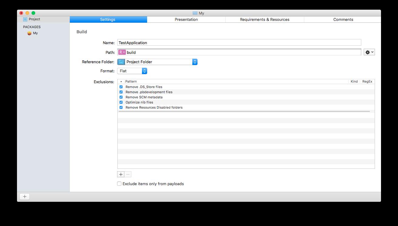 Platypus и Packages. Создаём и устанавливаем программы на macOS - 5