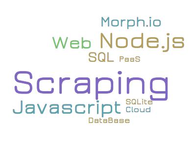 Web scraping обновляющихся данных при помощи Node.js и PaaS - 1