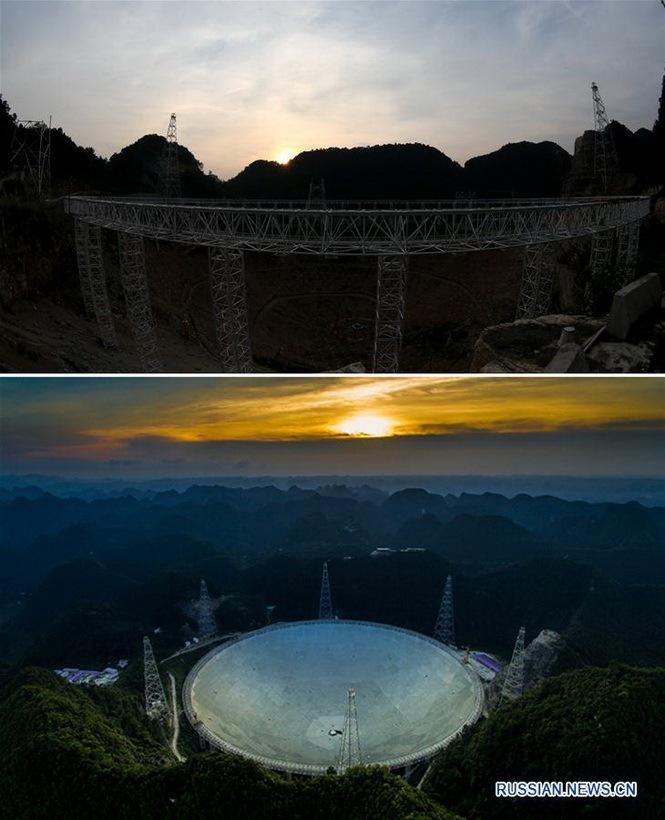 Крупнейший в истории одноапертурный радиотелескоп «FAST» диаметром в 500 метров введен в эксплуатацию в Поднебесной - 3