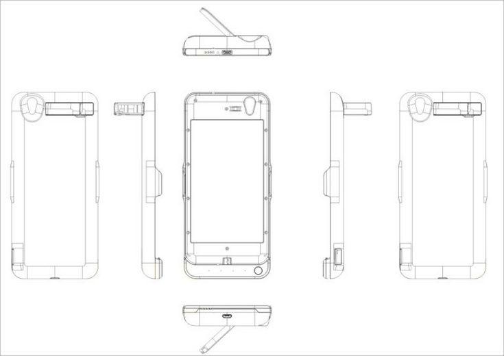 Смартфон Oukitel K7000 напоминает бутерброд