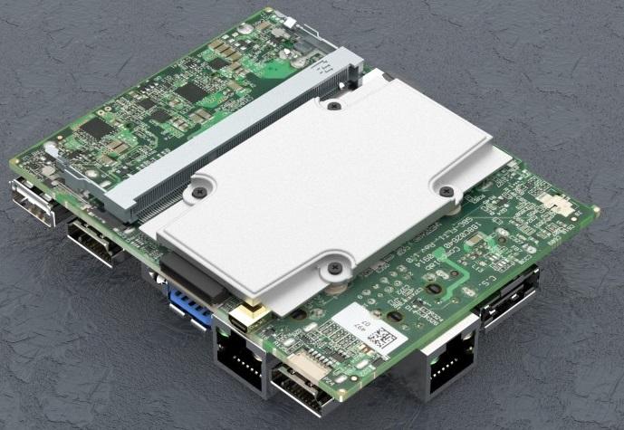 Система Compulab fitlet-RM может иметь четыре порта Gigabit Ethernet