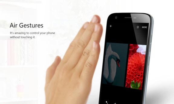 Смартфон Ulefone U007 при цене $50 поддерживает управление при помощи жестов