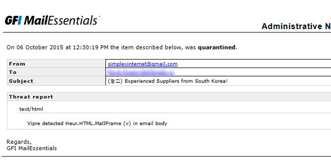 GFI MailEssentials: почта под защитой - 13