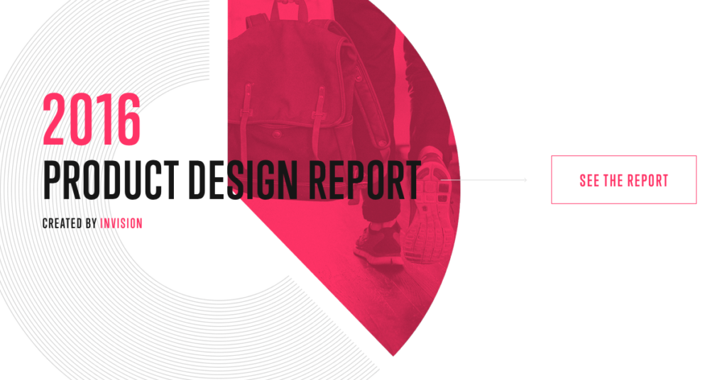 InVision Product Design Report 2016