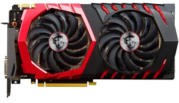 Видеокарта MSI GeForce GTX 1080 Gaming Z получит внушительный разгон