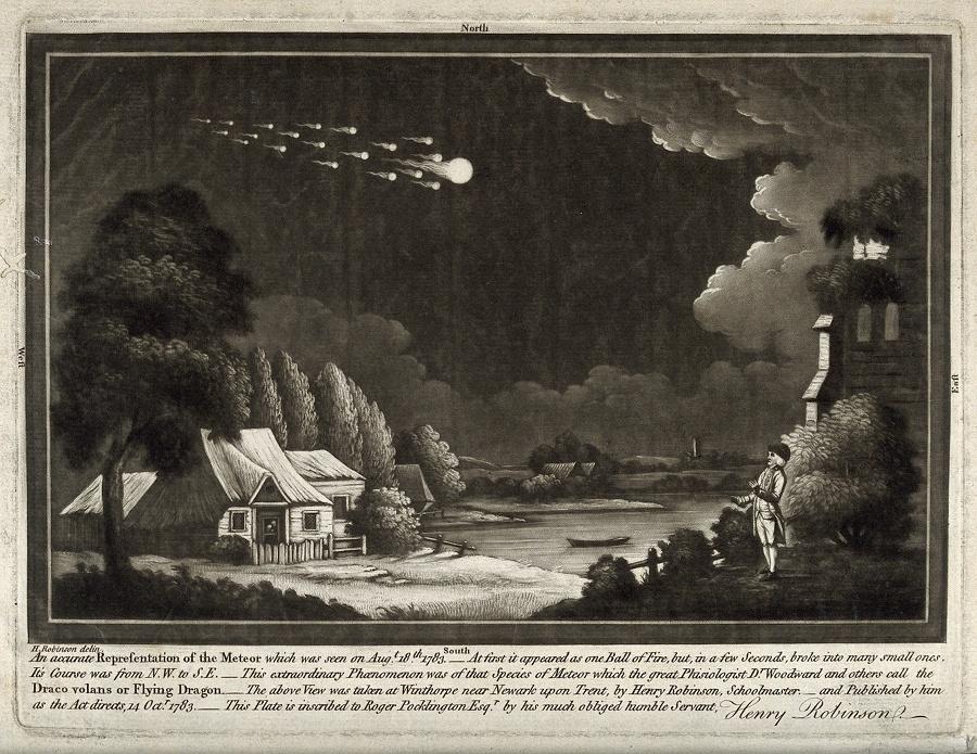 Кометы и метеориты глазами ученых и художников прошлых веков - 10