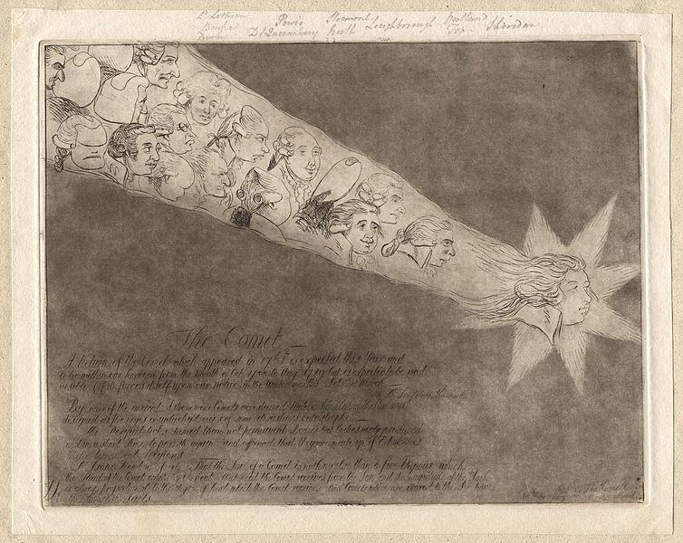 Кометы и метеориты глазами ученых и художников прошлых веков - 11