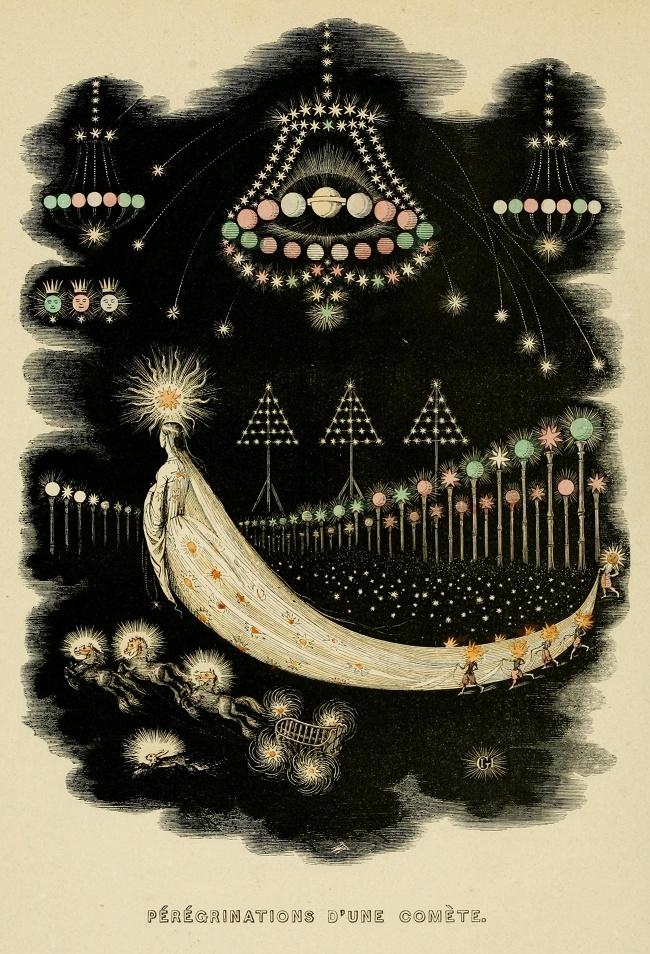 Кометы и метеориты глазами ученых и художников прошлых веков - 12