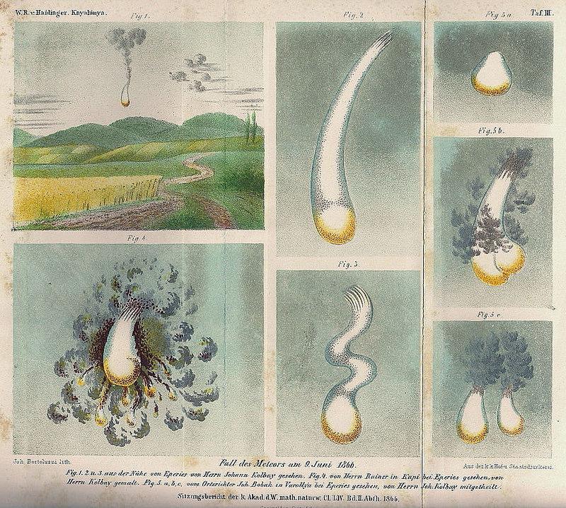 Кометы и метеориты глазами ученых и художников прошлых веков - 14