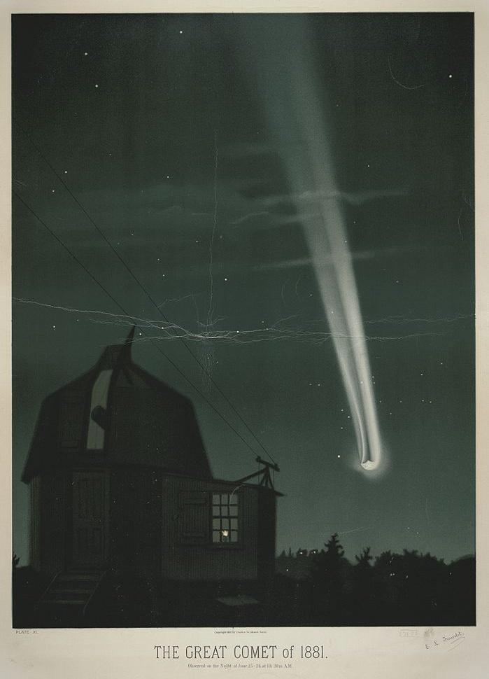 Кометы и метеориты глазами ученых и художников прошлых веков - 16