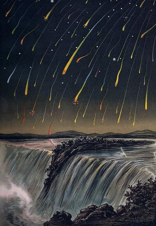 Кометы и метеориты глазами ученых и художников прошлых веков - 17