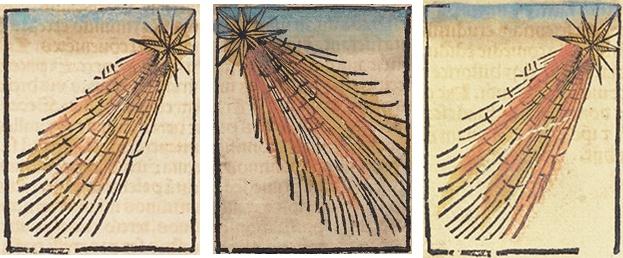 Кометы и метеориты глазами ученых и художников прошлых веков - 3