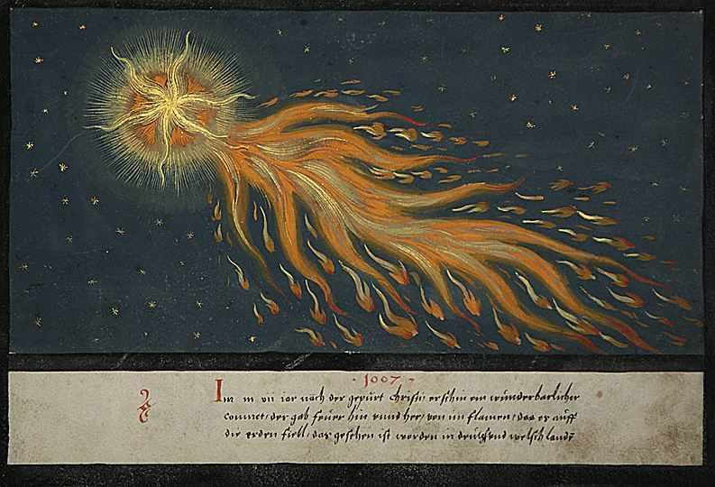 Кометы и метеориты глазами ученых и художников прошлых веков - 4