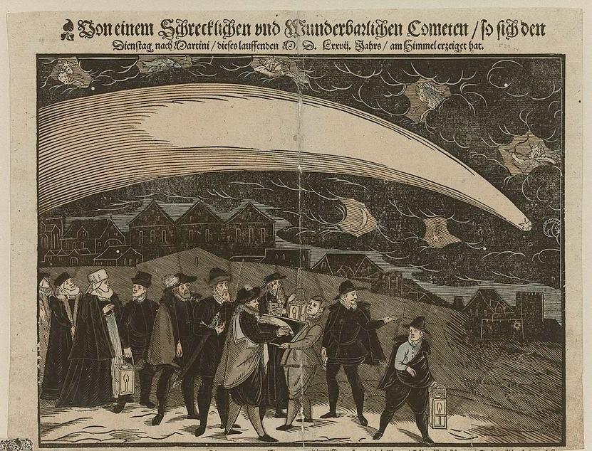 Кометы и метеориты глазами ученых и художников прошлых веков - 5