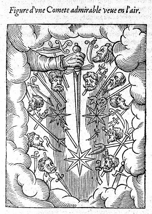 Кометы и метеориты глазами ученых и художников прошлых веков - 6