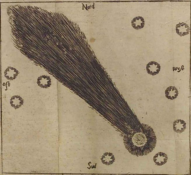 Кометы и метеориты глазами ученых и художников прошлых веков - 8