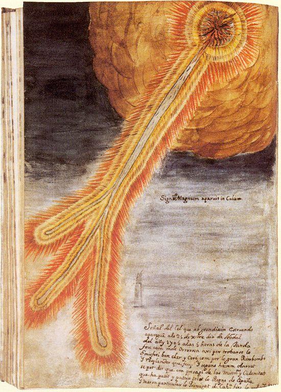 Кометы и метеориты глазами ученых и художников прошлых веков - 9