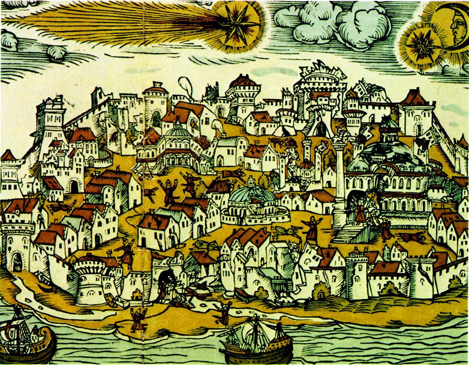 Кометы и метеориты глазами ученых и художников прошлых веков - 1