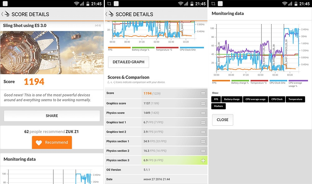 Обзор смартфона ZUK Z1: мощность и автономность по доступной цене - 10