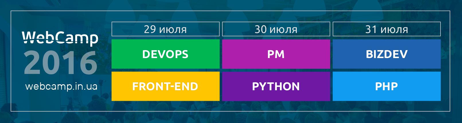 Приглашаем в Одессу на WebCamp 2016! Море, отдых и любимые технологии - 1