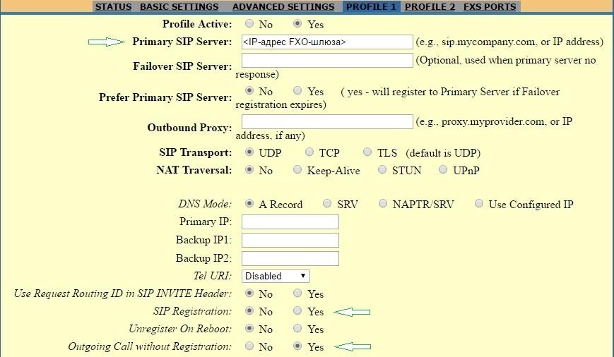 Вынос телефонных линий с помощью VoIP-шлюзов Grandstream - 6