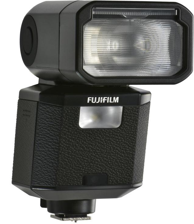 Вспышка Fujifilm EF-X500 поддерживает серийную съемку