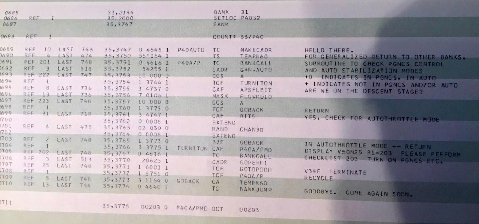 Исходный код «Аполлона-11» опубликован на Github - 1