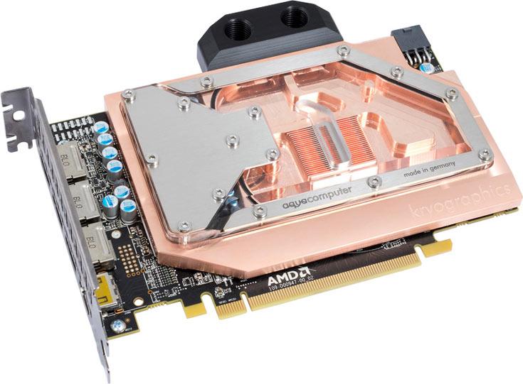 Водоблок Aqua Computer kryographics RX 480 стоит 100 евро