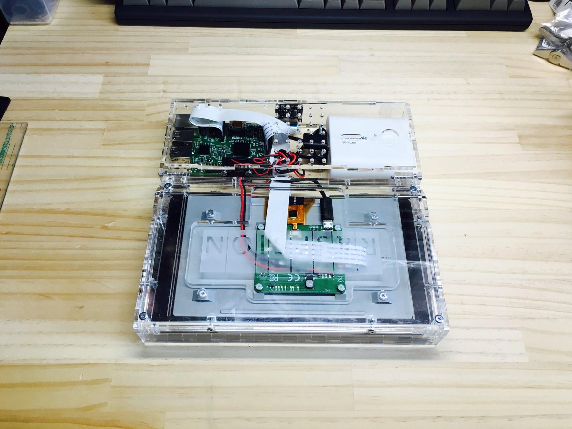 Делаем ноутбук на Raspberry Pi - 4