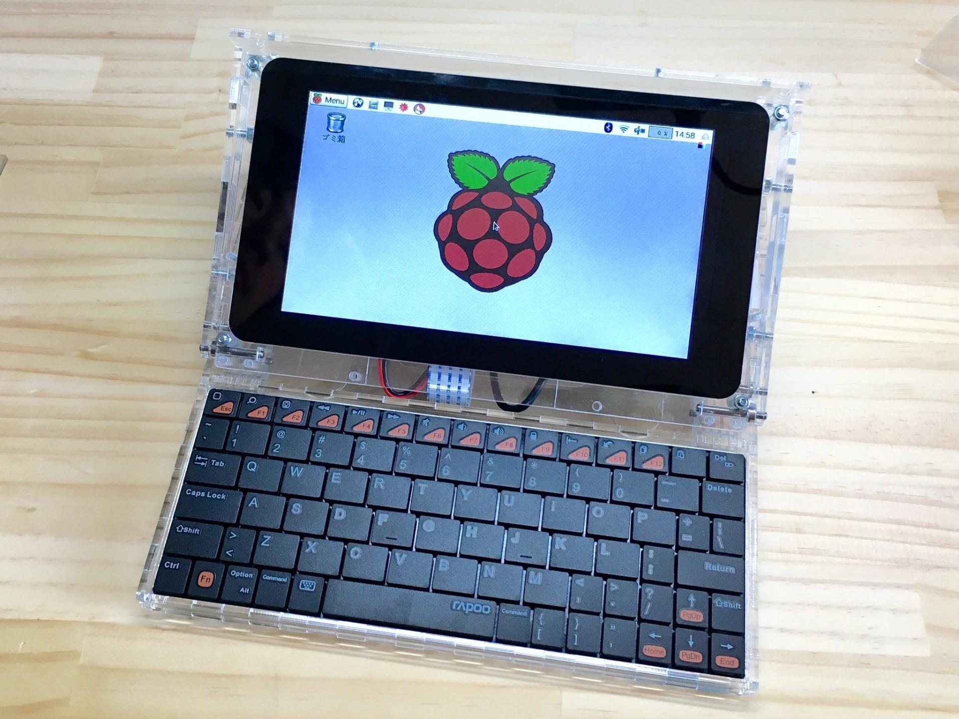 Делаем ноутбук на Raspberry Pi - 1