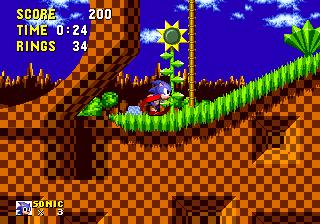 Обзор физики в играх Sonic. Части 5 и 6: потеря колец и нахождение под водой - 2