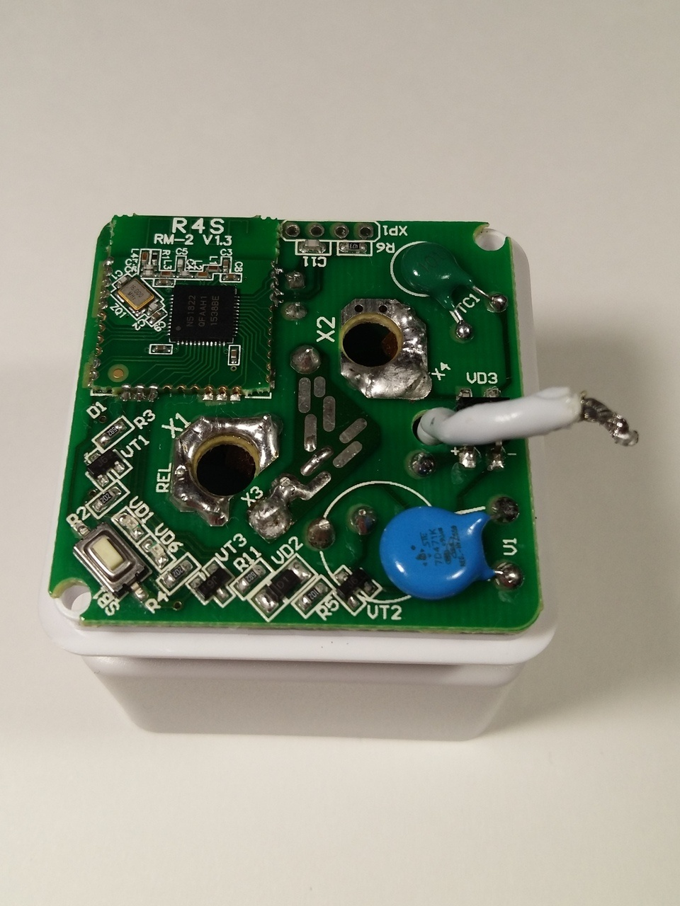 Умная розетка Redmond SkyPlug RSP-100S Анализ конструкции и схемы электрической принципиальной. Выявление недостатков - 6