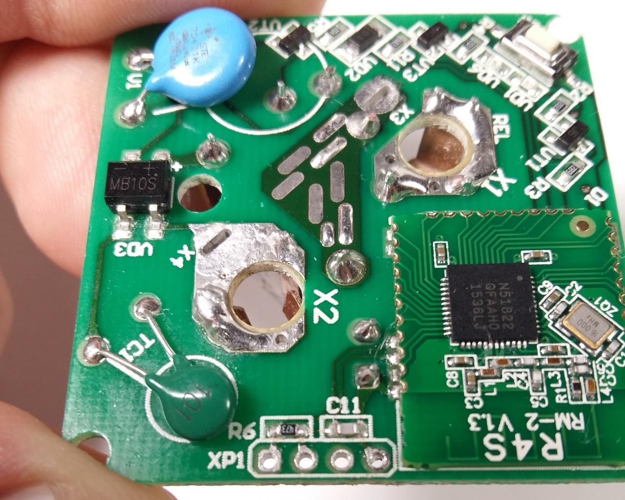 Умная розетка Redmond SkyPlug RSP-100S Анализ конструкции и схемы электрической принципиальной. Выявление недостатков - 8
