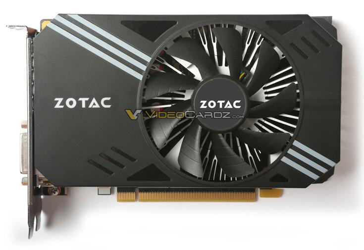 Система охлаждения Zotac GeForce GTX 1060 Mini построена по схеме с одним вентилятором