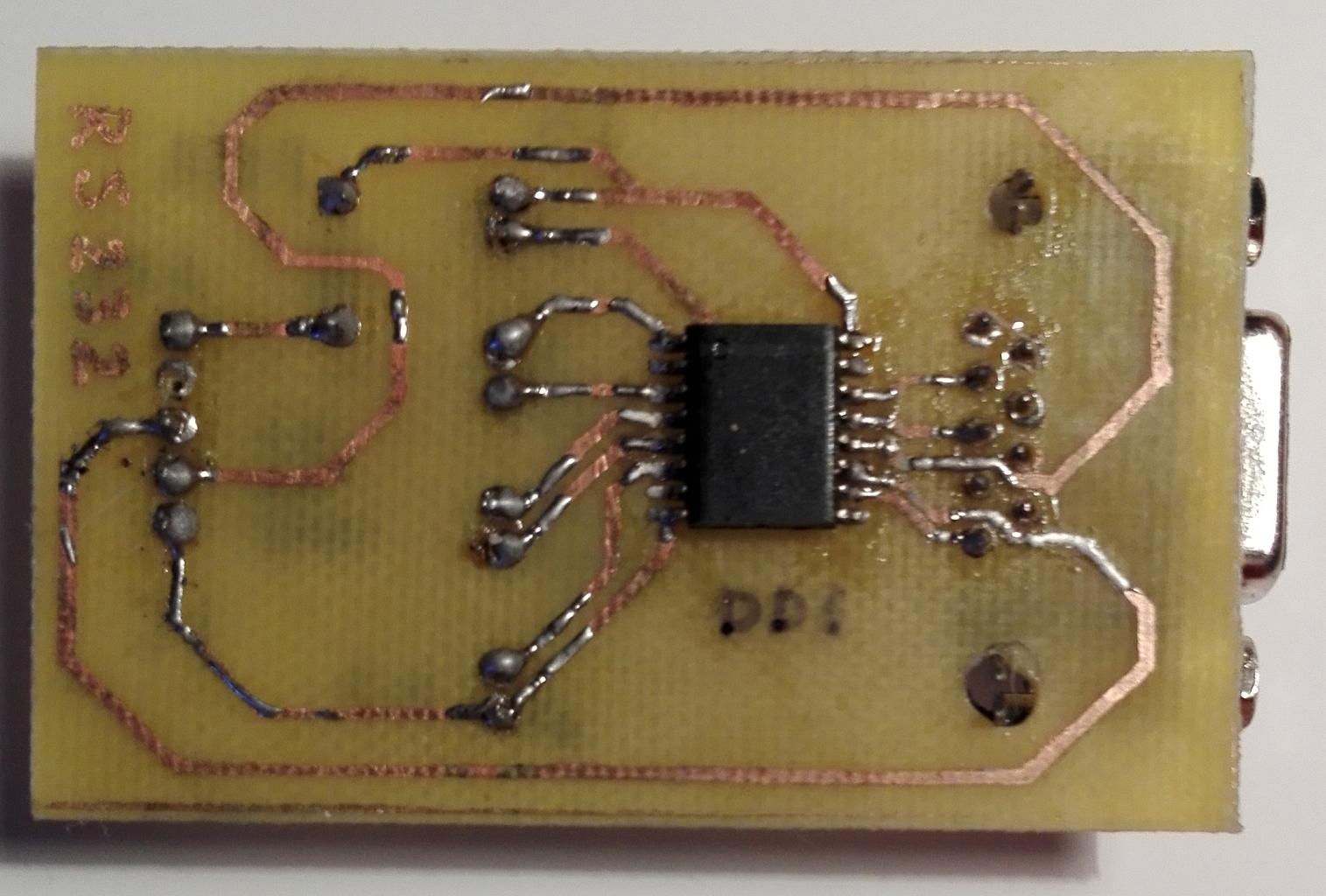 Как «чайник» делал UART <-> RS232 конвертер для Orange Pi - 32