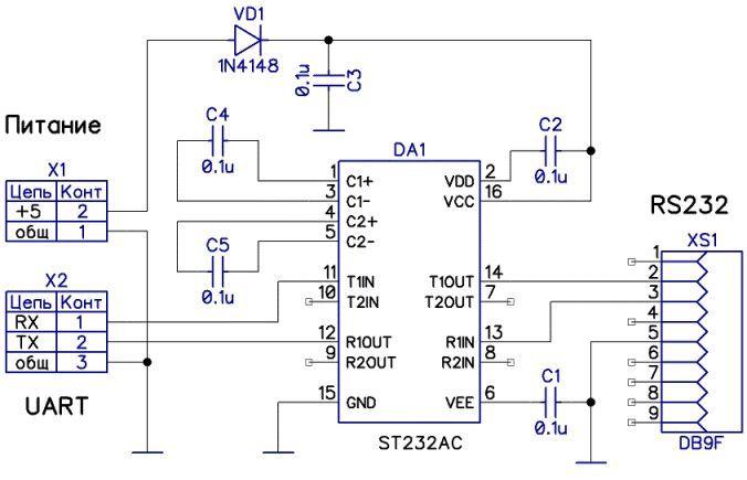 Как «чайник» делал UART <-> RS232 конвертер для Orange Pi - 4