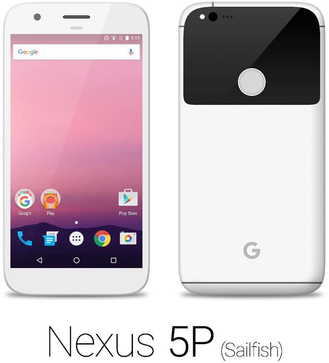 Судя по иллюстрациям, Nexus 5P будет выпускаться, по крайней мере, в четырех цветовых вариантах