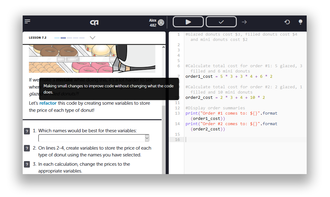 Эффективное онлайн изучение программирования с помощью Сode Avengers - 5