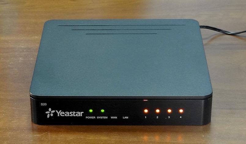 Обзор новой IP-АТС Yeastar S20 - 10