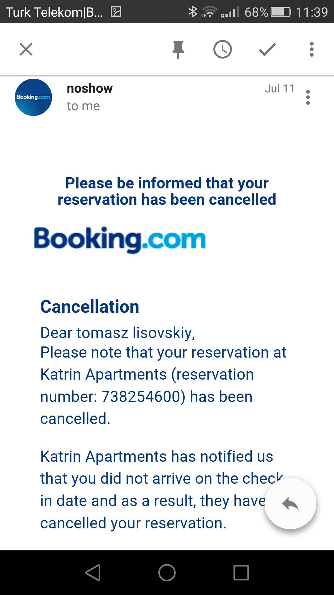 Booking и Евгений Лисовский