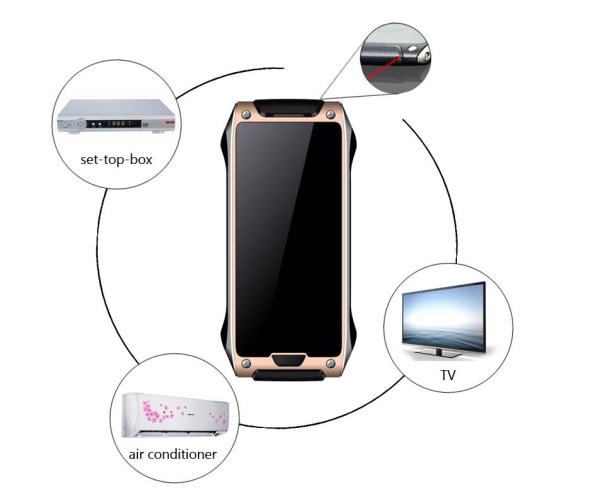 Смартфон VKworld Crown V8 также оснащен инфракрасным портом для управления техникой