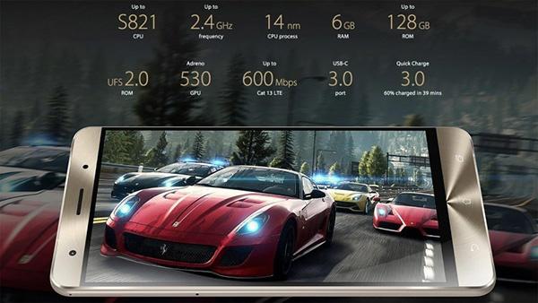 Asus ZenFone 3 Deluxe получил однокристальную платформу  Qualcomm Snapdragon 821