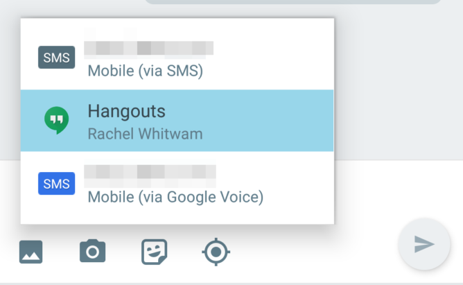 ПО Hangouts 11 претерпело изменения