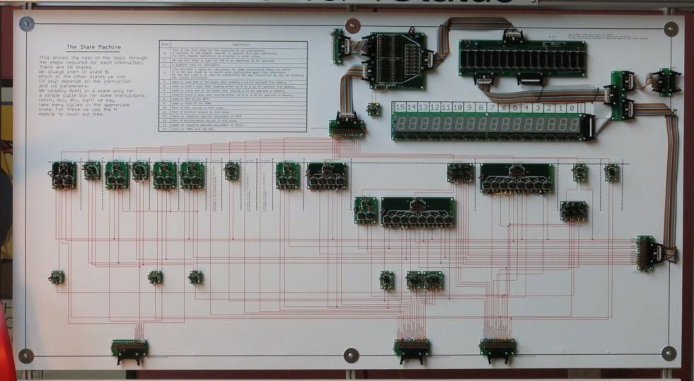 Британский инженер построил 500-килограммовый процессор из дискретных элементов. Этапы работы и интервью с создателем - 5
