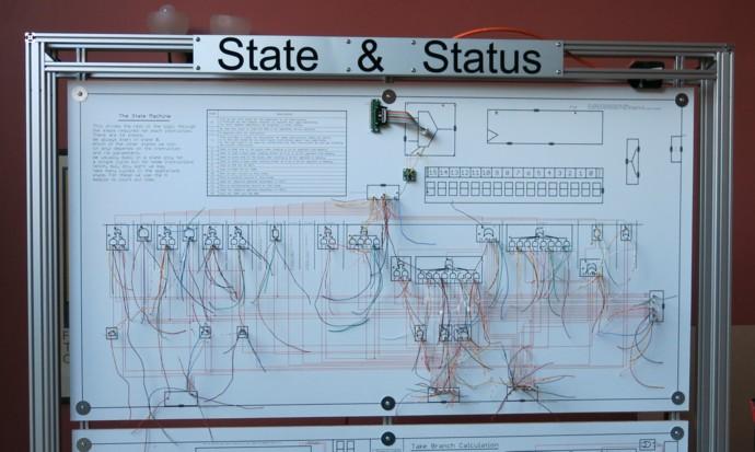 Британский инженер построил 500-килограммовый процессор из дискретных элементов. Этапы работы и интервью с создателем - 6