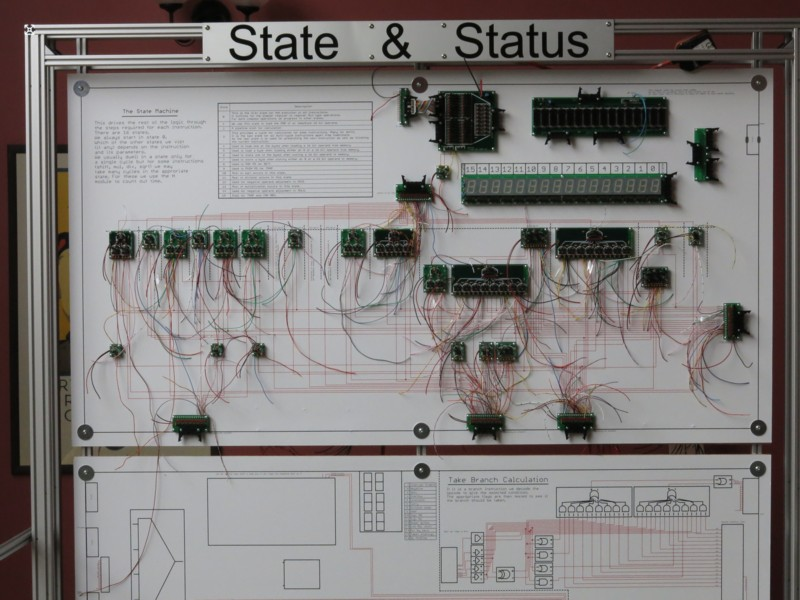Британский инженер построил 500-килограммовый процессор из дискретных элементов. Этапы работы и интервью с создателем - 8