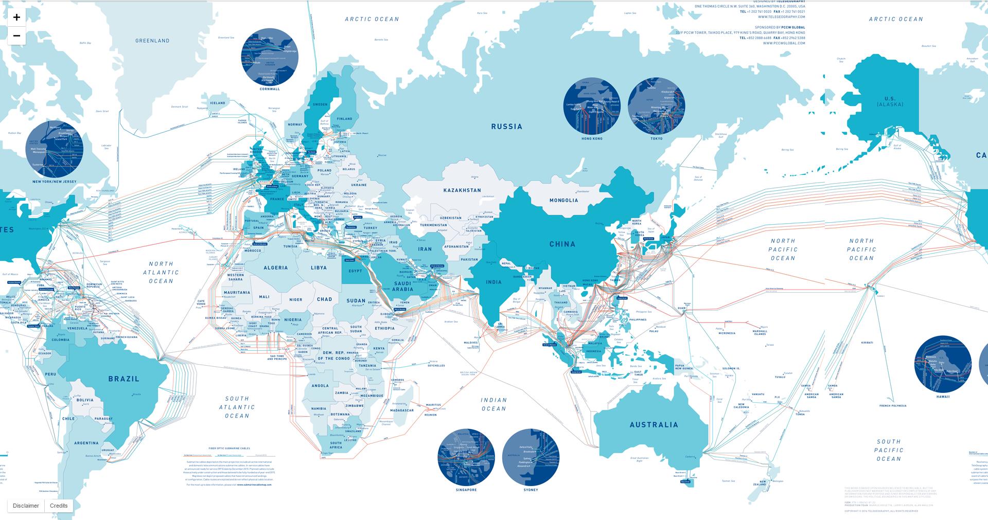 Кровеносная система мирового интернета - 3