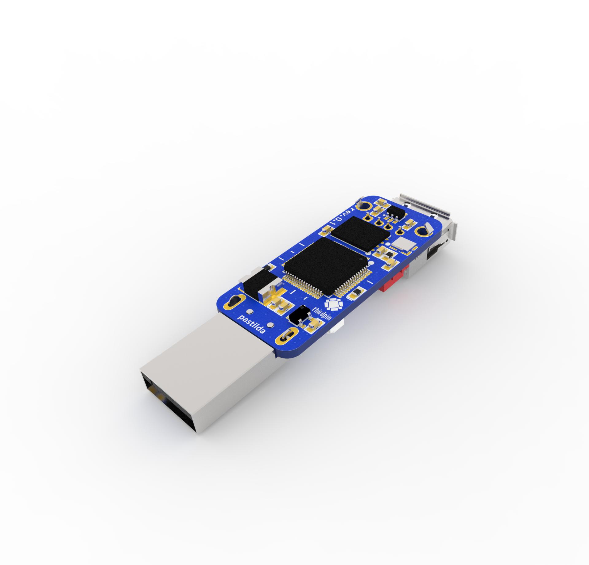 Pastilda — open source аппаратный USB менеджер паролей